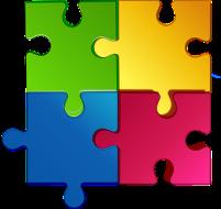 puzzel 4 stukjes